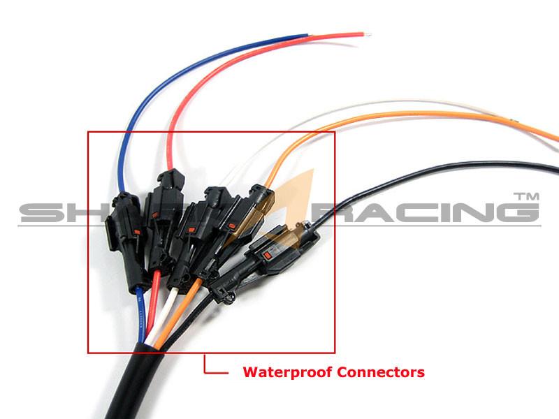 hyundai kia headlight wiring harness adapter set 6 pin 7 Pin Wiring