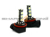03-08 Tiburon Super White LED Fog Light Bulbs