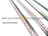 95-99 Accent Chrome Window Molding Set