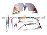 2010-2013 Soul Chrome Exterior Molding Set