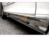 01-06 Elantra Stainless Steel Side Skirts