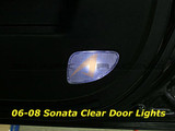 07-10 i30 Clear Door Light Covers