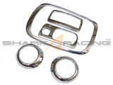 06-08 Sonata Chrome Interior Kit