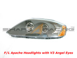 03-06 Tiburon F/L Headlights