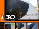 2007-2010 i30 C-Pillar Quarter Glass Plates