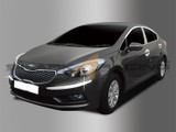 2014+ Forte-K3 Sedan Chrome Bumper Moldings