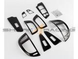 2010-2013 Forte Carbon Fiber Style Interior Overlay Kit