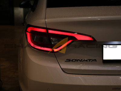 Hyundai Accent Sport >> 2015-2017 Sonata Factory OEM LED Tail Lights - Shark Racing