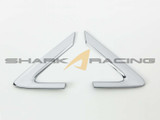 2011-2016 Elantra Chrome C-Pillar Molding Kit