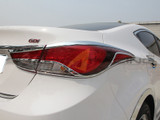 2014-2016 Elantra Chrome Tail Light Molding Kit