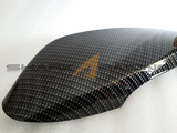 Carbon Fiber Style Mirror Covers