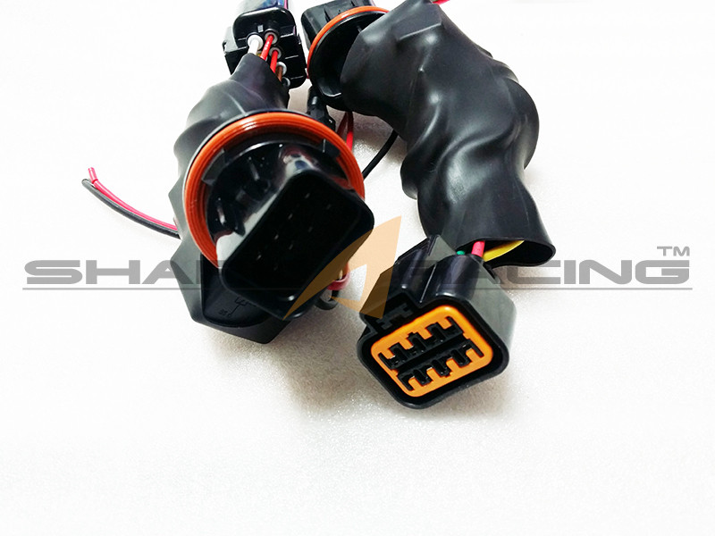 wiring harness hyundai genesis 2013 2016 genesis coupe drl delete wire harness shark racing  2013 2016 genesis coupe drl delete wire