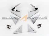 2011-2013 Elantra Chrome AC-Pillar Molding Kit