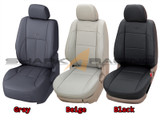 MOBIS Factory Leather Seat Cover Set