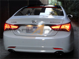 2011-2014 Sonata A7-Style  LED Roof Spoiler