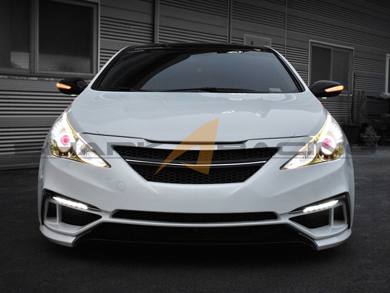 2011-2014 sonata stealth body kit - shark racing