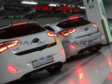 2012-2017 i30-Elantra GT LED Bumper Reflectors - Type TF