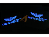 2010-2016 Genesis Coupe LED Door Catch Plate Kit