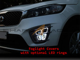 2016+ Sorento SR Fog Light Cover Set