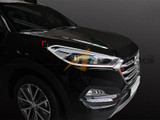2016+ Tucson Chrome Headlight Molding Kit