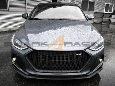 2017 Elantra Grill Type Ms Shark Racing