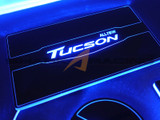 2016-2018 Tucson LED Console Plate Kit