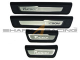 2016+ Tucson Factory Stainless Steel Door SIlls