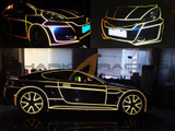 TRON-Style Reflective Decal Tape
