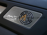 2017+ Elantra Brushed Aluminum Speaker Grill Overlays