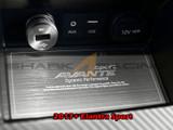 2017+ Elantra Brushed Aluminum Console Plate Kit