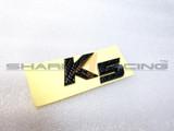 2011-2015 Optima-K5 Carbon Fiber Style K5 Emblem