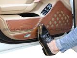 2018+ Stinger Leather Door Protector Set