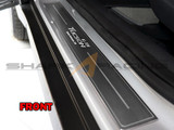 2016+ Tucson Brushed Aluminum Door Sill Kit