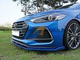 2017-2019 Elantra Sport Front Lip Spoiler - Type ST