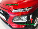 2018+ Kona Chrome Headlight Molding Kit