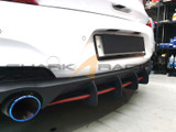 2018+ i30-Elantra GT N-Line Rear Diffuser Fin Extension Kit
