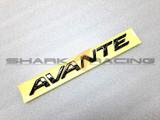 2001+ Elantra Factory Carbon Fiber Style Avante Emblem