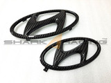 2020+ Palisade Carbon Fiber Style Factory Hyundai Emblem Set