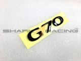 Factory Black G70 Lettering Emblem