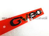 Factory Black GV80 Lettering Emblem