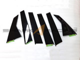 2020+ Sonata Factory Glossy Black Pillar Replacement Covers