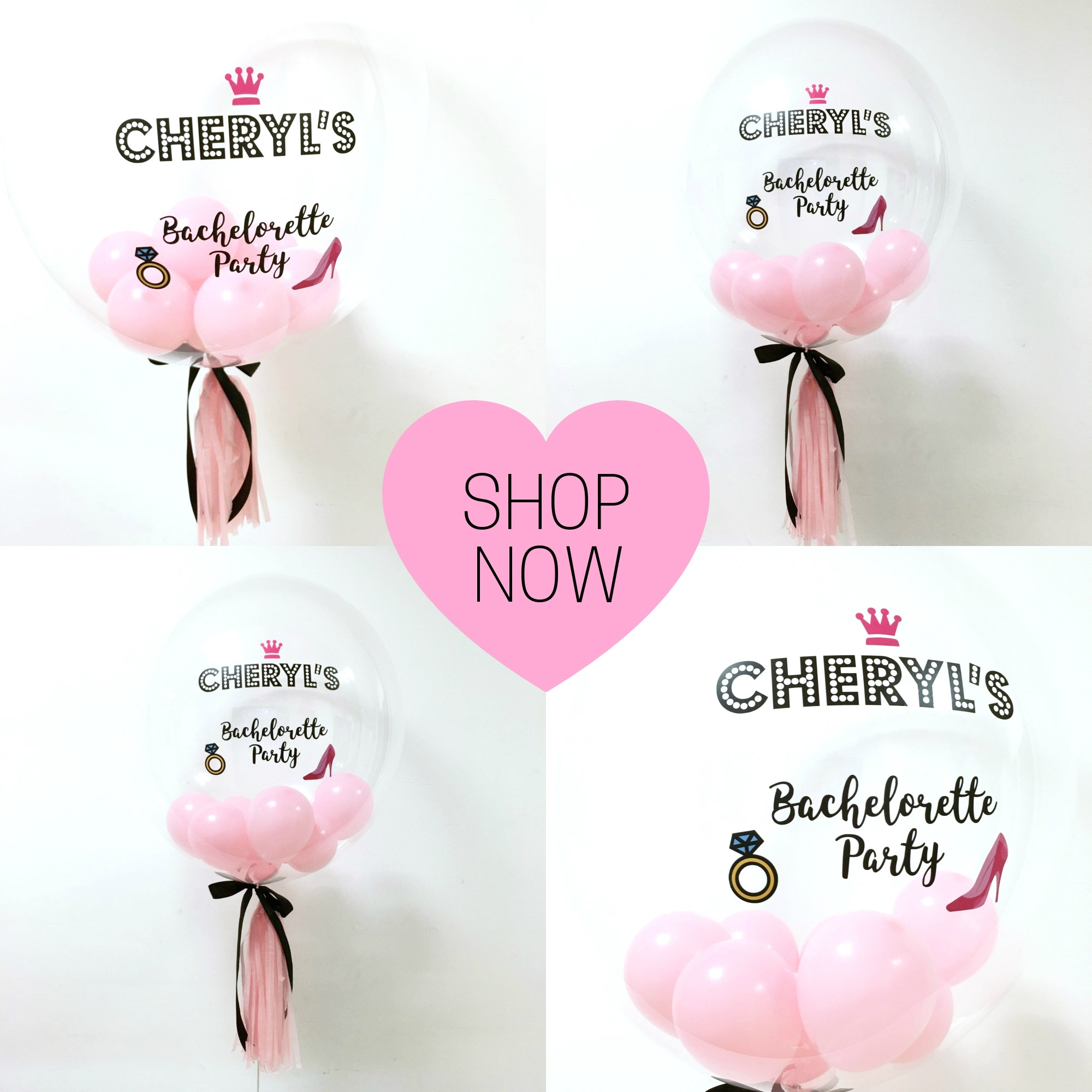 Personalised Special Ocassion 24 Quot Bubble Balloons Give Fun