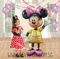 [Party: Mickey & Minnie] Jumbo Minnie Airwalker Balloon (54inch)
