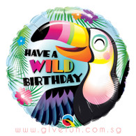 [Party] Have a Wild Birthday Toucan Foil Balloon (18inch)