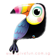 [Party]Colorful Toucan Foil Balloon (41inch)
