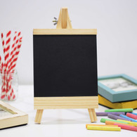 Wooden Framed Blackboard/Chalkboard: Perfect for writing personalised message (for all events including Wedding Receiption, ROM, Birthday Party and etc)