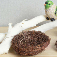 Chic & rustic handmade and specially handcrafted Bird Nest decorations. Perfect for farmhouse parties/events/weddings, also great for cottage chic home decorations, table centrepiece and etc