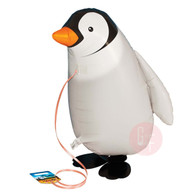 Walking Pet Balloon - Penguin: Helium Inflatable (optional)Walking Pet Balloon, ribbon is included. Walking Pet Balloon is made with high-quality mylar foil, welded seams and inflation valves are designed for long lasting fun.