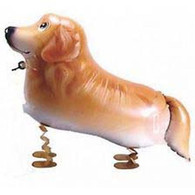 Walking Pet Balloon - Dachshund Dog: Helium Inflatable (optional)Walking Pet Balloon, ribbon is included. Walking Pet Balloon is made with high-quality mylar foil, welded seams and inflation valves are designed for long lasting fun.