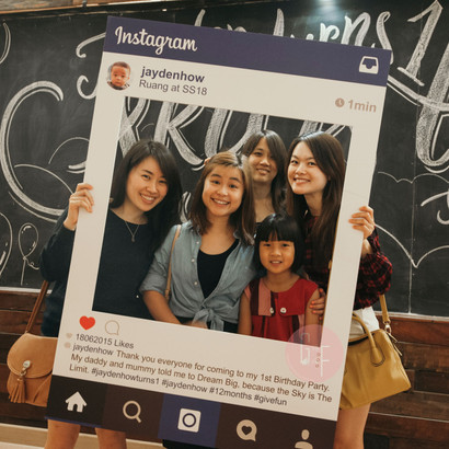 personalized instagram frame   giant size   give fun